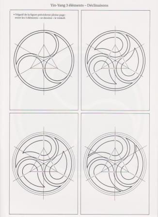 celtic triskele construction