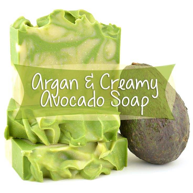 This luxurious Argan & Avocado Soap makes a phenomenal face or body soap with an extra moisturizing oomph from avocado oil, full tutorial with photos!