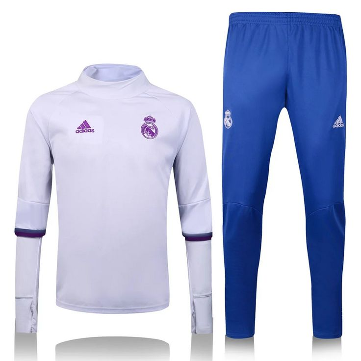 $45 REAL MADRID 16/17 TRACK SUIT WHITE