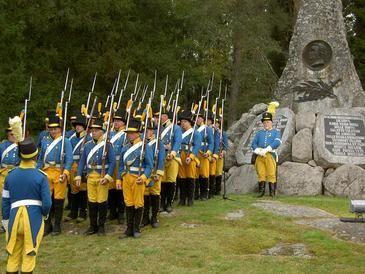 Juuttaan taistelun muistomerkki, Suomen sota 13.9.1808.