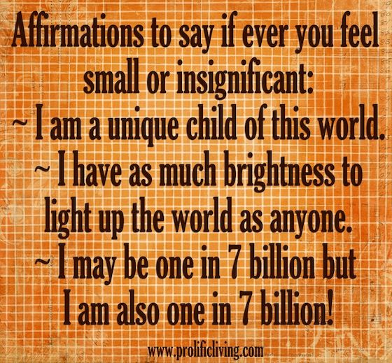 affirmations-when-feel-small