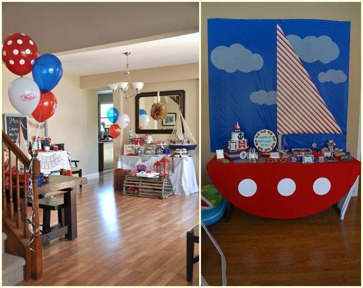 17 Best Ideas About Boat Birthday Parties On Pinterest