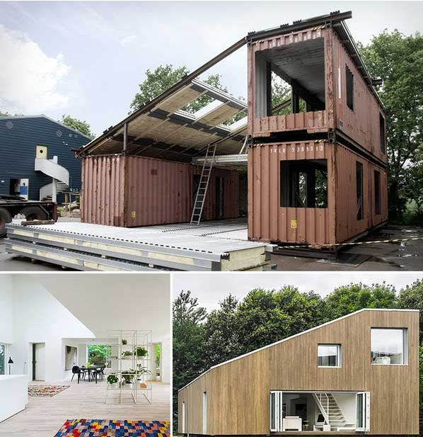 24 Epic Shipping Container Houses No Lack Of Luxury: 29 Best Shipping Container Garage Images On Pinterest