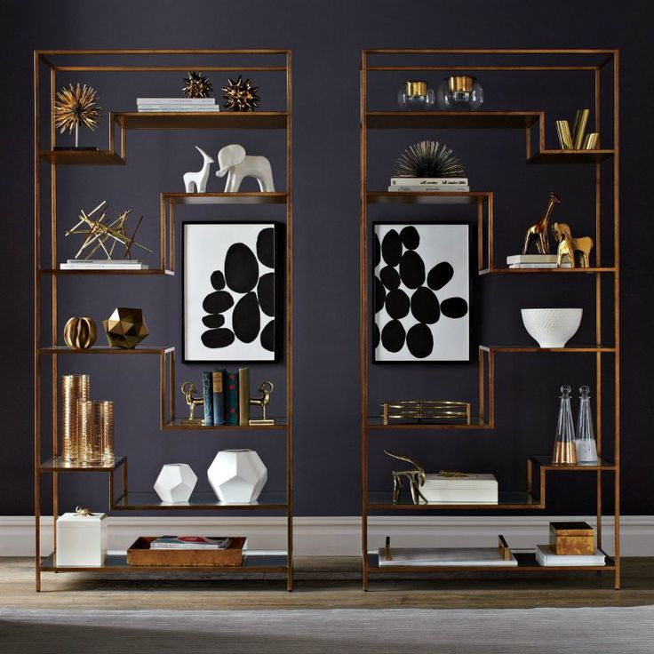 DwellStudio Mansfield Etagere Single Side Precedent Furniture