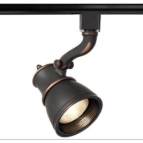 Add a traditional look with this WAC track light head, which is compatible with Juno track lighting systems.