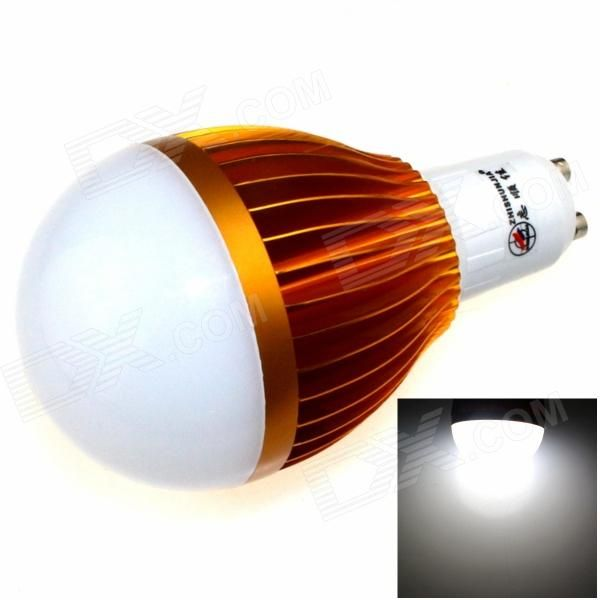 Color: Golden + White; Color BIN: White; Brand: ZHISHUNJIA; Model: GU10-5630A-24LED; Material: Aluminum alloy; Quantity: 1 Piece; Power: 12W; Rated Voltage: AC 85-265 V; Connector Type: GU10; Theoretical Lumens: 1200 lumens; Actual Lumens: 1000 lumens; Chip Brand: Others,Samsung; Chip Type: 5630; Emitter Type: LED; Total Emitters: 24; Color Temperature: 6000K; Dimmable: yes; Beam Angle: 180 °; Packing List: 1 x LED light; http://j.mp/1tp1l1o