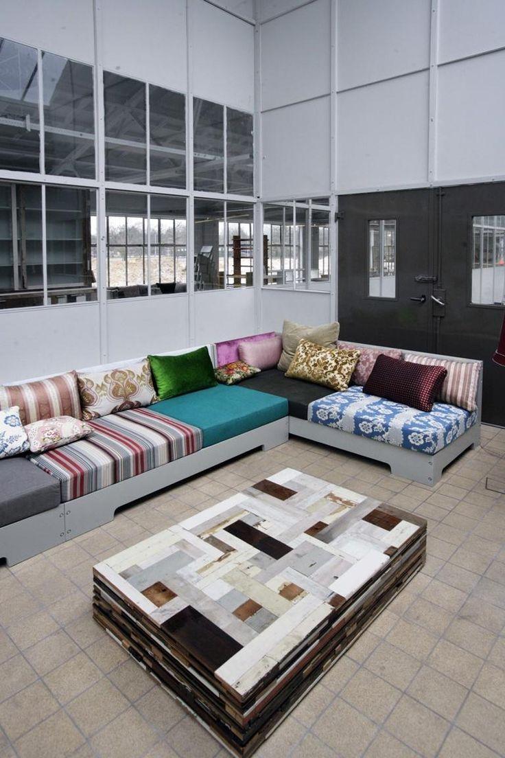 Piet hein eek scrapwood wallpaper modern wallpaper los angeles -  3 Piet Hein Eek Couch