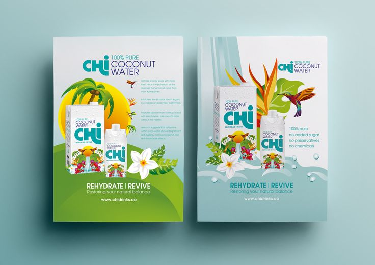 Chi Coconut Water Packaging Design – Brandpoint London