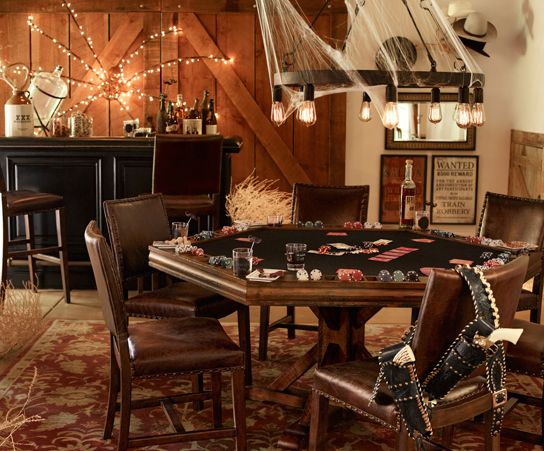 Great adult Haunted Saloon Party | Pottery Barn.  Western attire and saloon girls.....easy!
