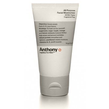 Säg adjö till torr hy | Testpiloterna  Recension av Anthony Logistics All-Purpose Facial Moisturizer.