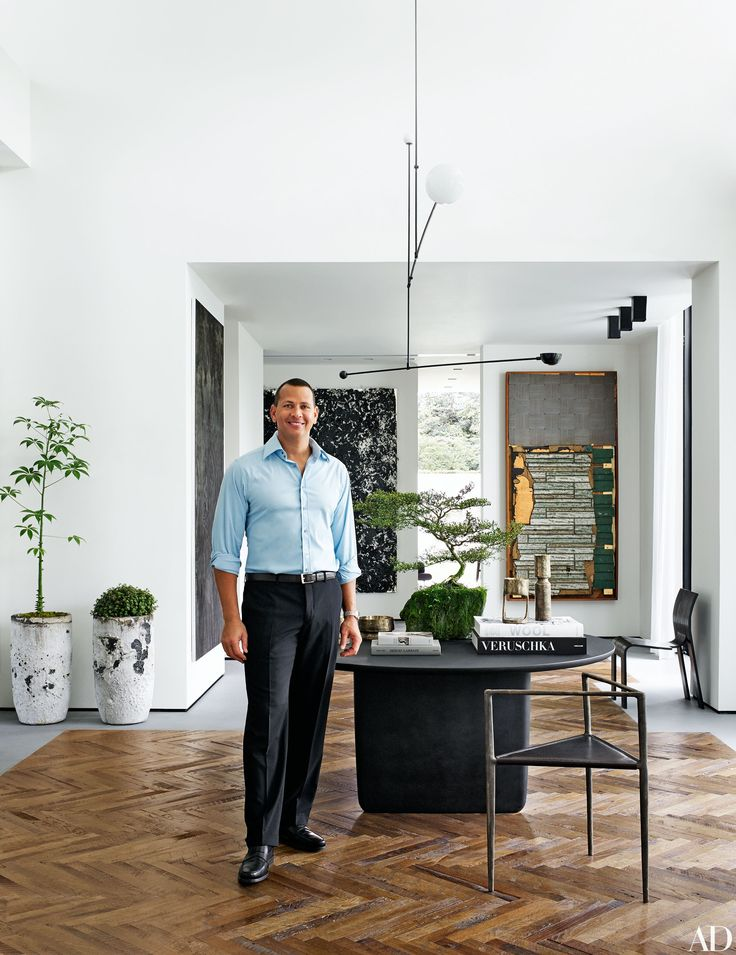 Alex Rodriguez Invites AD Inside His Coral Gables, Florida, Home Photos | Architectural Digest