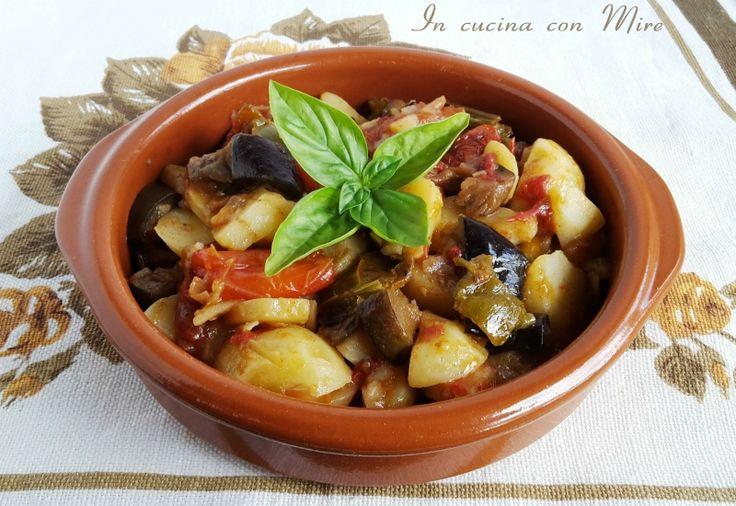 Ciambotta calabrese ricetta antica originale