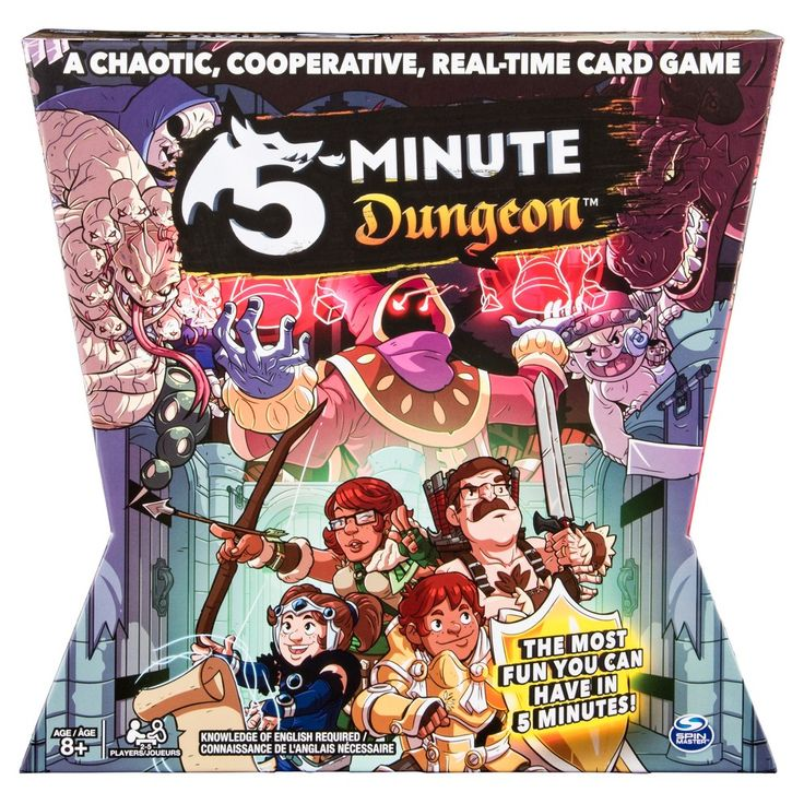 5 Minute Dungeon Fun Card Game for Kids and Adults, Adult