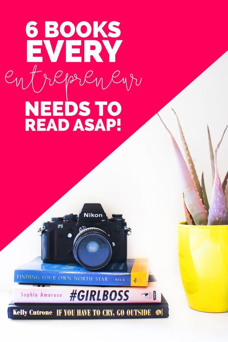6 books every entrepreneur needs to read ASAP | LOVE PLUS COLOR -@Jessica Safko