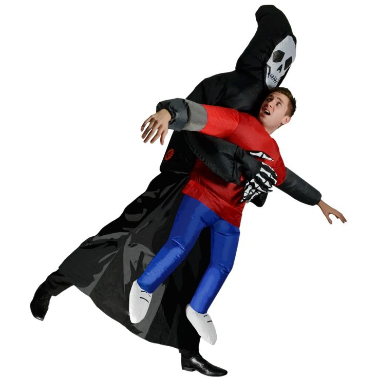Inflatable Grim Reaper Fancy Dress