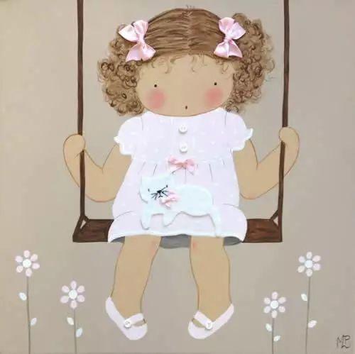 Decoracion bebes cuadros bbethecountry3 ines pinterest - Cuadros artesanales infantiles ...