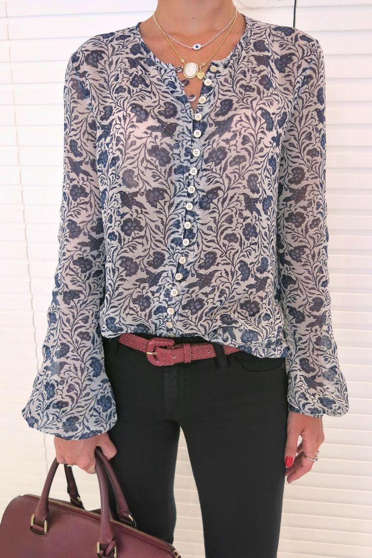 Nice blouse...would love this.