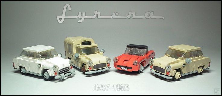 FSO Syrena '101', 'Bosto', 'Sport', '104'