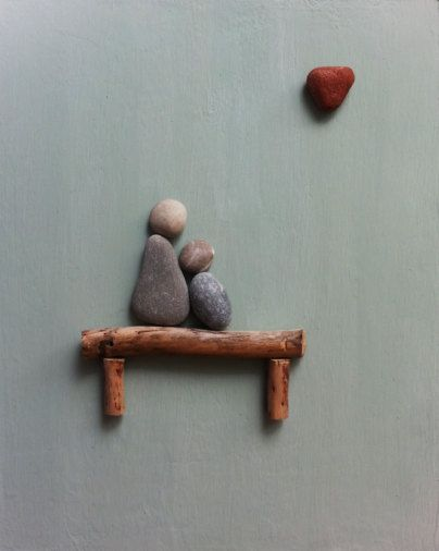 Stone people-My precious by LiseStones on Etsy