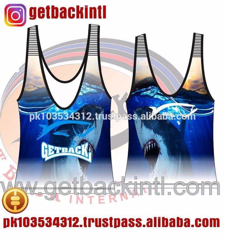 Custom Swimming Tank Tops & Singlets