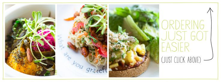 Cafe Gratitude ~ Our menu is vegan and always organic, all the time. (Venice, Berkeley, Santa Cruz & Los Angeles)