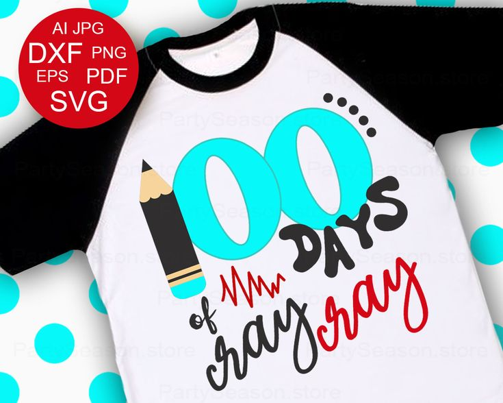 Excited to share the latest addition to my #etsy shop: 100 days of cray cray svg 100th Day Svg Teacher svg 100 Days of School SVG Kid School Shirt design School shirt Cut file Cricut Silhouett http://etsy.me/2DFjWoM #supplies #blue #babyshower #kidscrafts #gray #100day