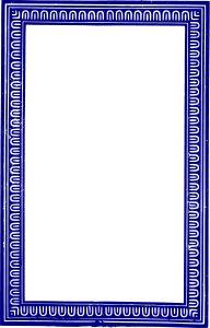 blue frame png clipart solid frame blue