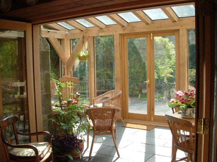 A cost effective way of adding an oak framed garden room for Oak framed garden room