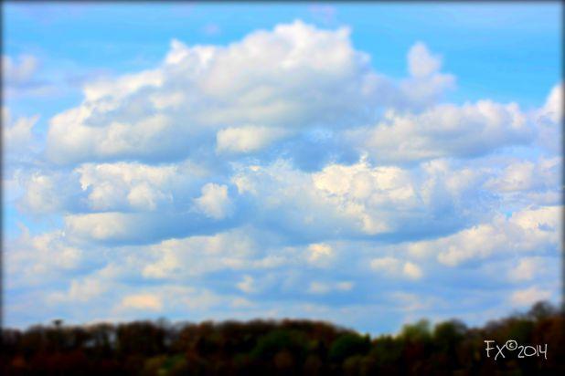 Clouds above in Gelderland