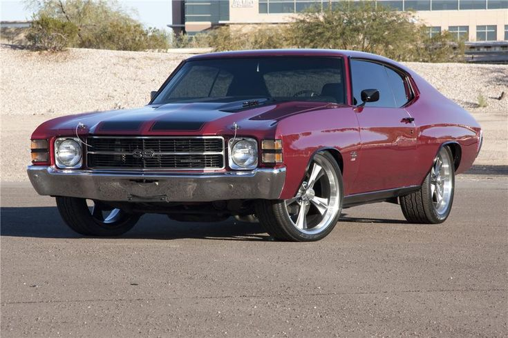 1971 Chevelle my first car but hunter green...Would love to own one again!