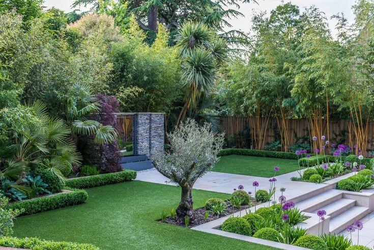 Twickenham Kate Gould Gardens Sloped Garden Front Yard Landscaping Design Front Yard Landscaping