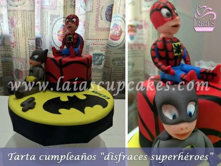 Tarta superheroes (Laia's Cupcakes)