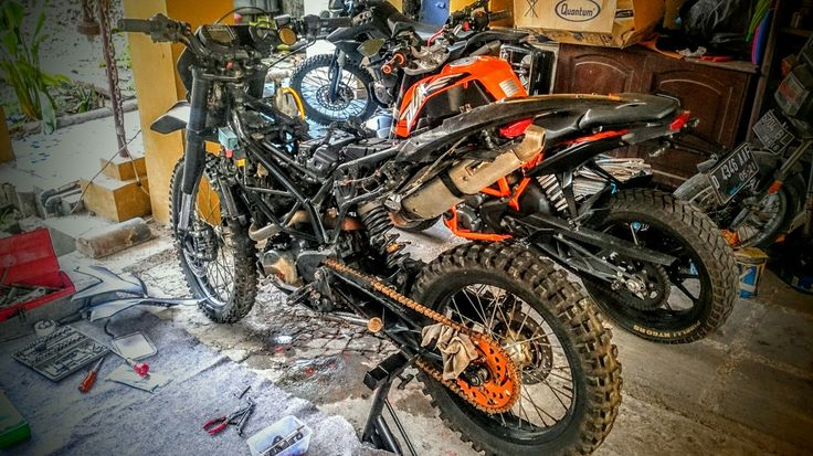 KTM Duke 200 Cross