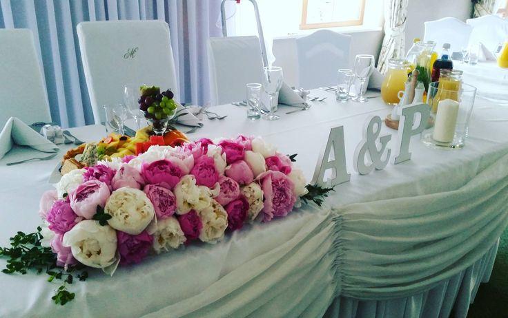 wedding decorations #peony #weddingtime
