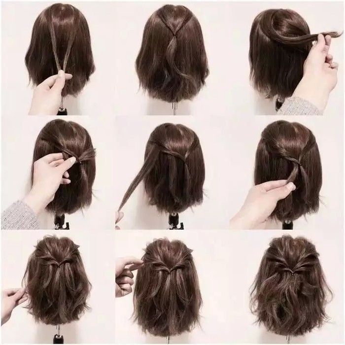 Tremendous 1000 Ideas About Short Hair Ponytail On Pinterest Hair Ponytail Hairstyles For Men Maxibearus