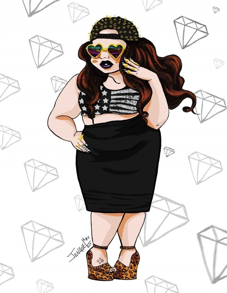 11 Artists Who Sketch Plus Size Fashion that You Need To Follow On Instagram! http://thecurvyfashionista.com/2016/04/plus-size-art-instagram/