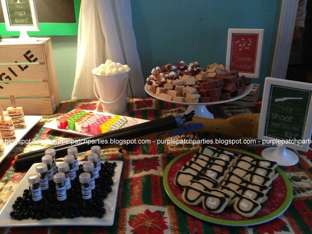 A Christmas Story Themed Party