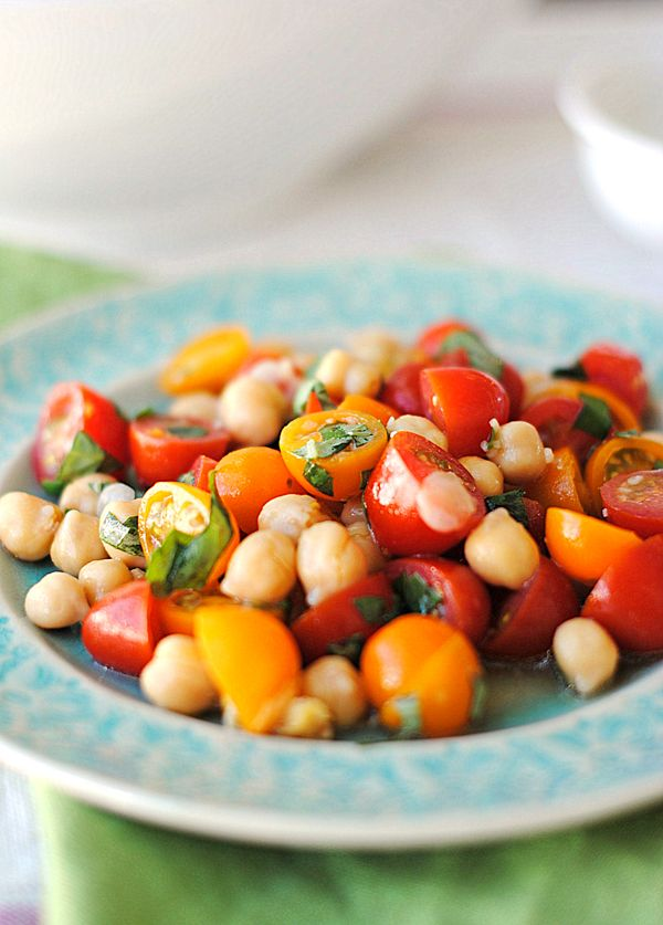 Chickpea and Tomato Salad recipe