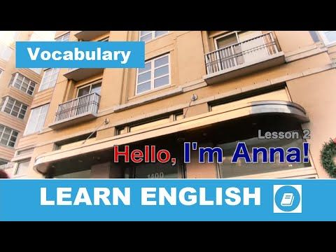 English Course – Lesson 2: Vocabulary and Speaking – E-Angol