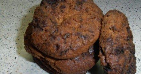 Cookies με φιστικοβούτυρο και μερέντα