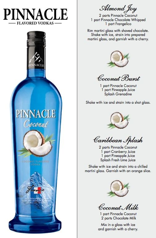 Pinnacle Coconut Recipes