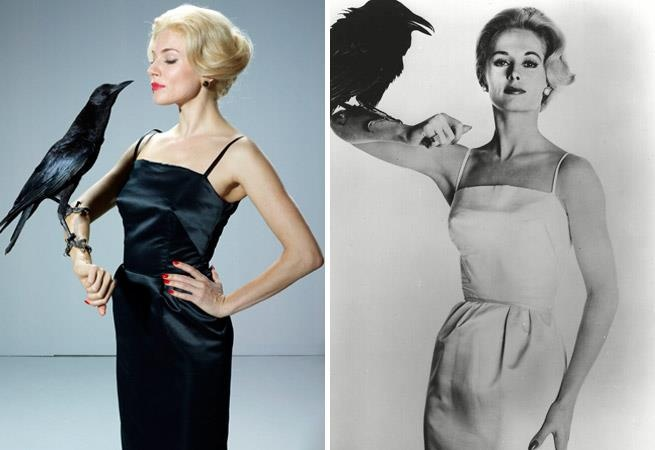 Sienna Miller is set to play Hitchcock's heroine. compare with Tippi Hedren,original heroine.