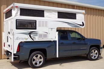For 2015, Northstar completely overhauls their popular Northstar 650SC, a self-contained short-bed pop-up truck camper for full-size trucks.