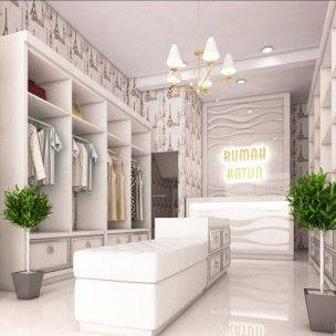 Butik Yang Didesain Dengan Cantik Menggunakan Konsep Klasik Modern