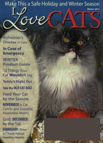 I Love Cats (1-year auto-renewal) | Cheap magazine subscriptions - Magazine Subscriptions