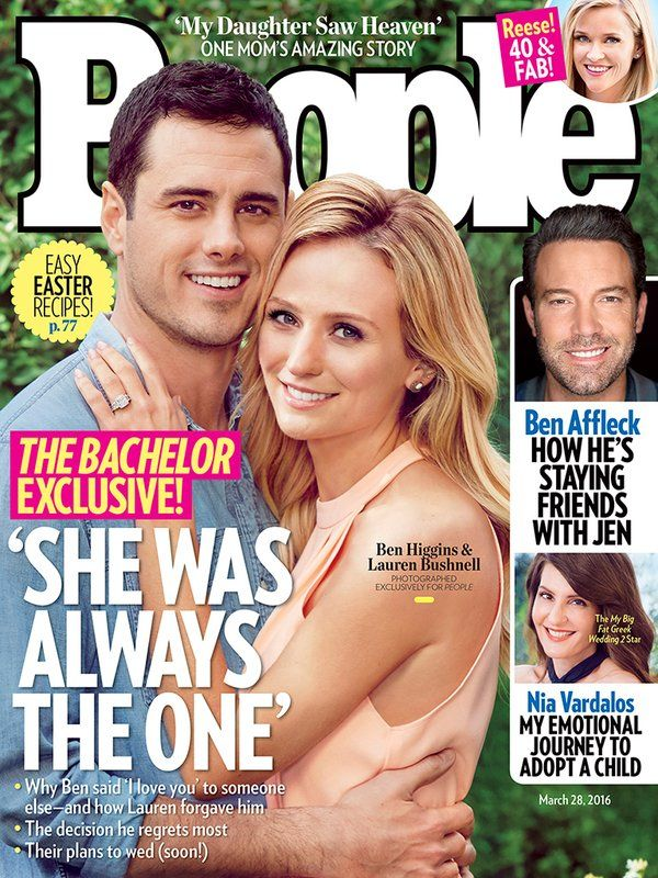 The Bachelor exclusive! Ben Higgins is engaged to Lauren Bushnell: 'She was always the one.'