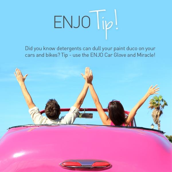 ENJO Car Glove and Miracle - ENJO Tip - Find it at www.enjo.com.au