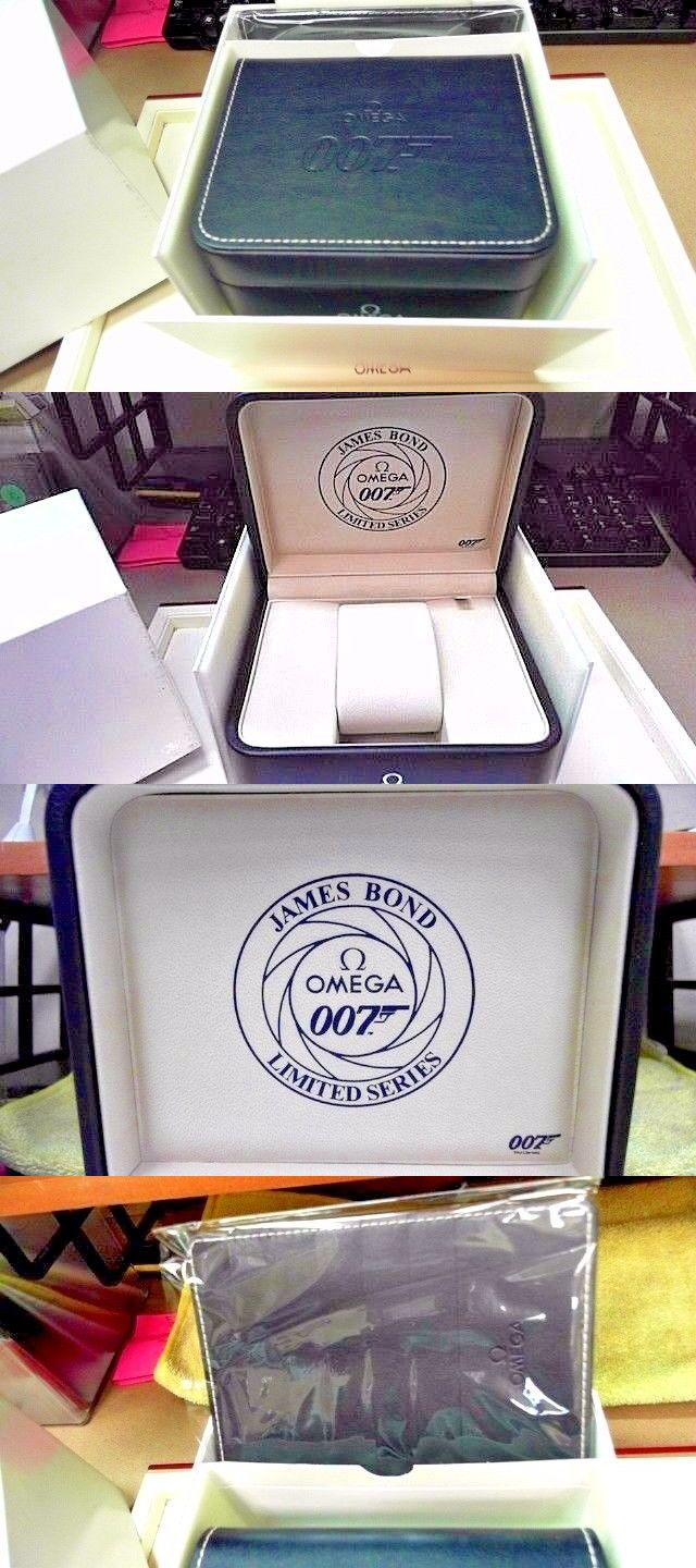 Boxes Cases and Watch Winders 173695: Omega James Bond 007 Collectors Piece Watch Box Set - New Never Out Of Store New -> BUY IT NOW ONLY: $250 on eBay!