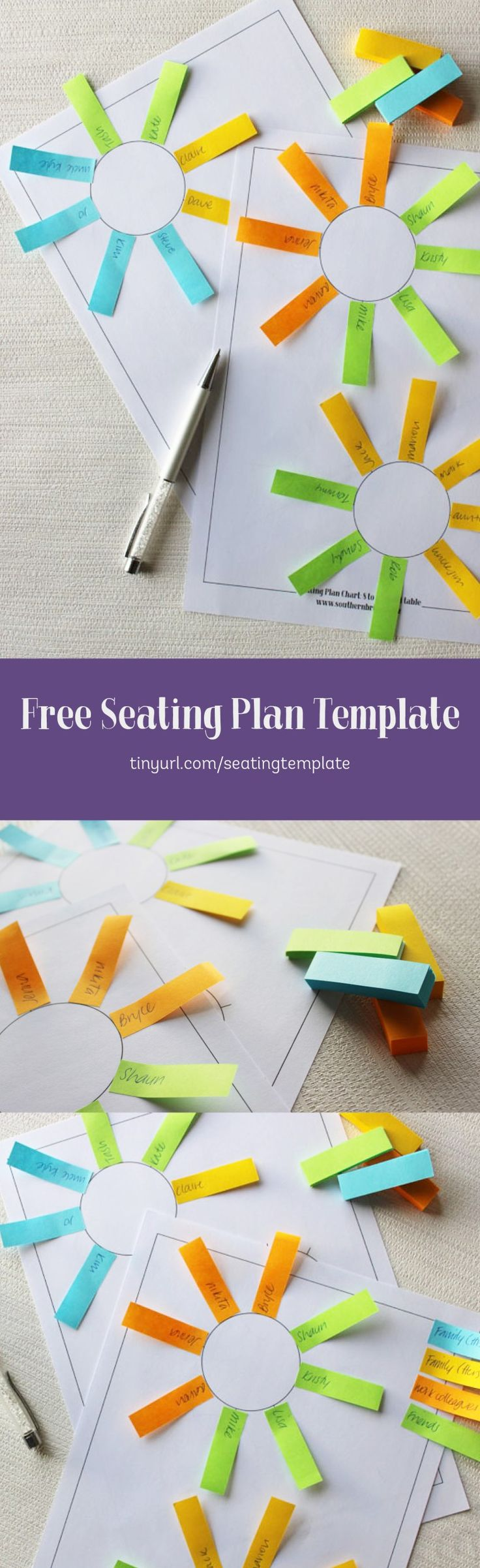 Free Download - Printable Seating Plan Assignment Template