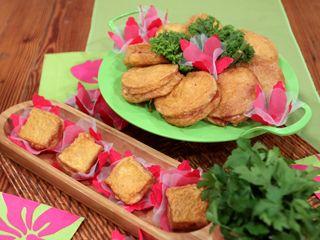 Emparedados fritos por Choly Berreteaga